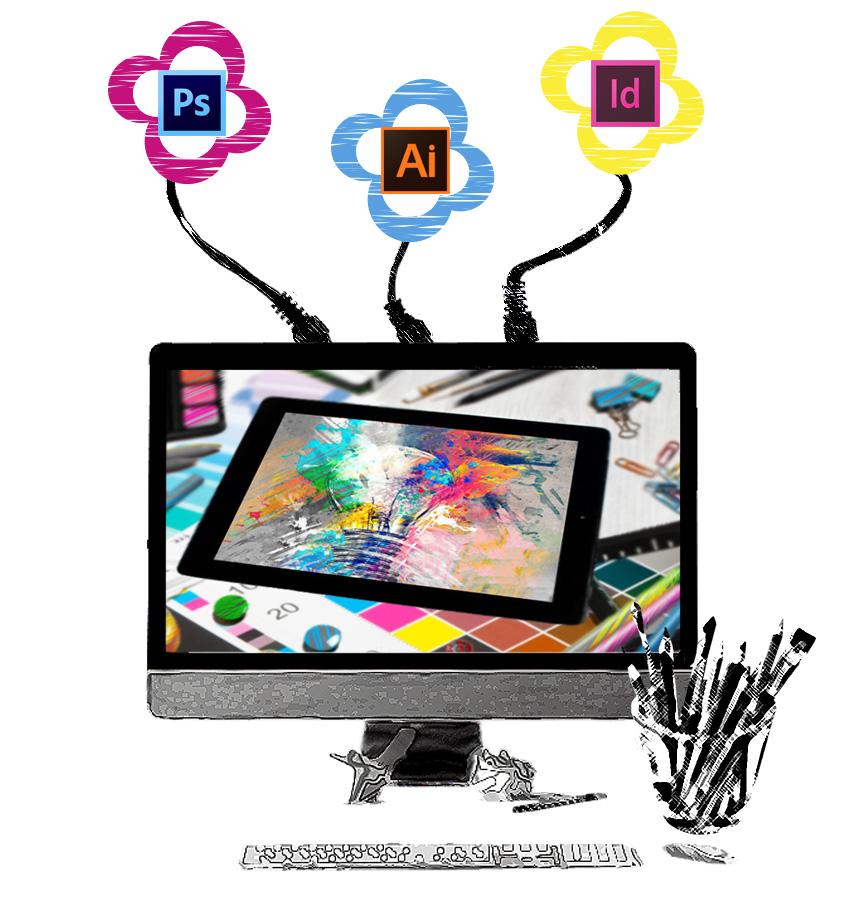 Servicios, Diseño gráfico-diseño y programación web-Ádalop