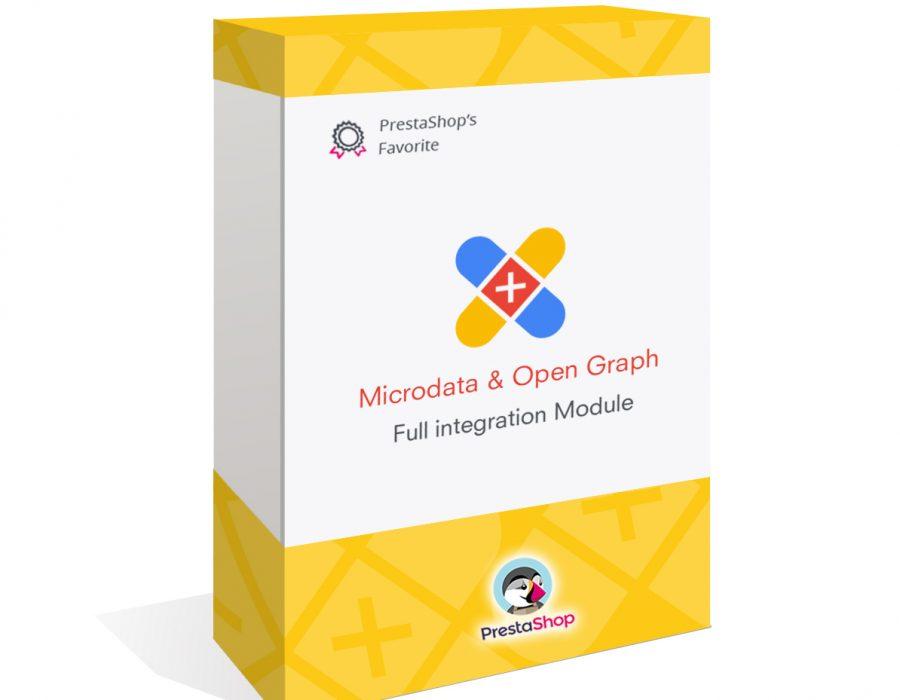 Integración JSON-LD Microdatos y Open Graph | SEO Prestashop