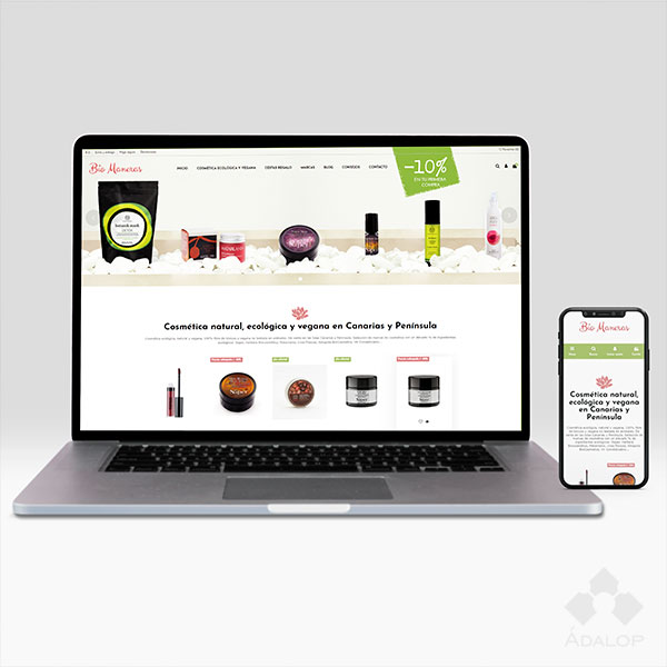 Tienda online – Cosmética Natural