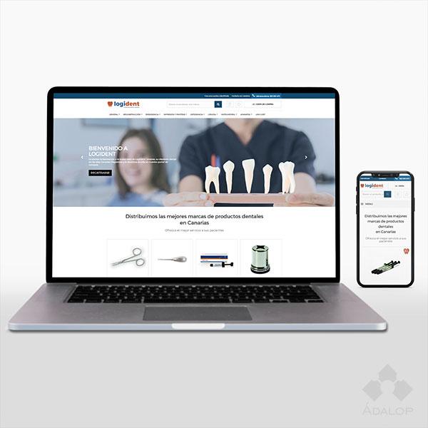 Tienda online – Distribuidor de Productos Dentales