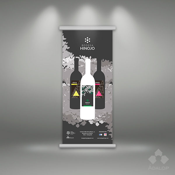 Diseño Roll up – Vinos
