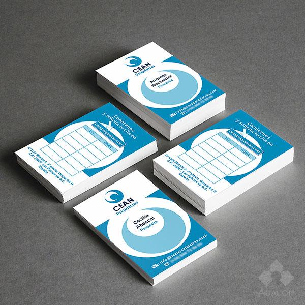 Diseño tarjetas de visita – Psiquiatras