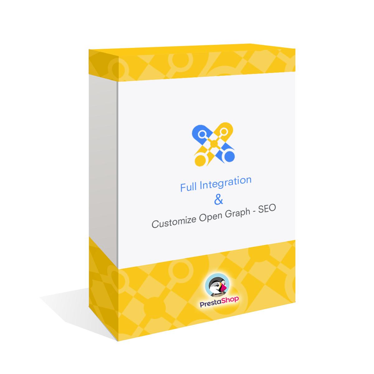 Módulo Integración completa y Personalización Open Graph – SEO